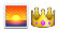 emoji: 'sunrise' 'crown'